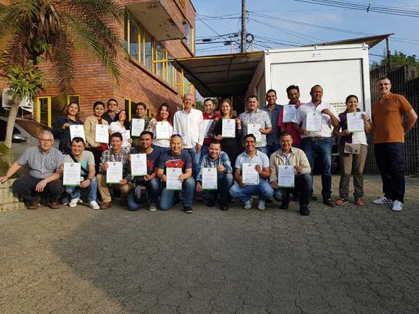 MRS Training & Rescue and ANM Colombia Employees Team Photo