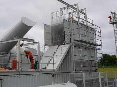 Work at height training facilities at Crossgates