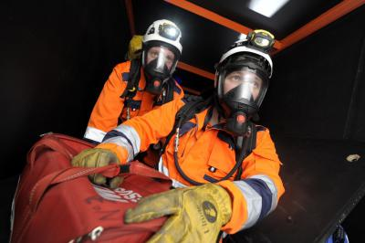 Ensure a safe system of work is in place before entering a confined space