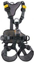 Work positioning harness for working at height