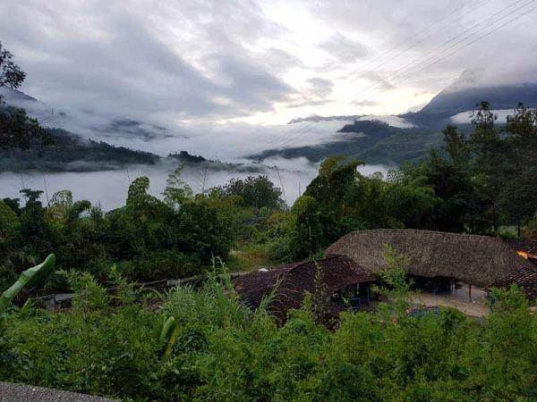 Billy Gundry's view from the Colombian hotel - MRS Training & Rescue
