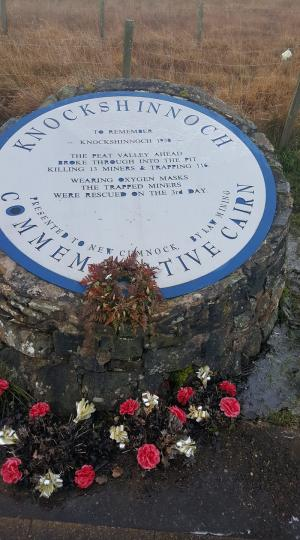 Knockshinnoch Colliery Disaster Memorial