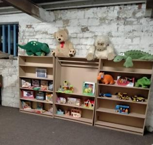 Warehouse in Selby now converted to a toy shop