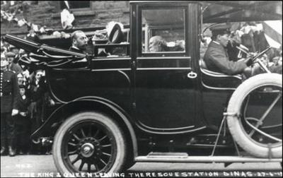 The Royal Visit to Mines Rescue's Dinas Station in 1912